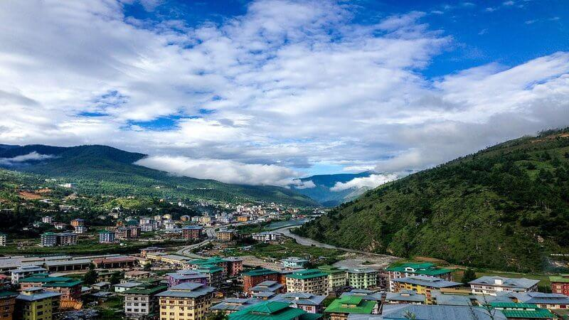 Bhutan - beautiful country near India