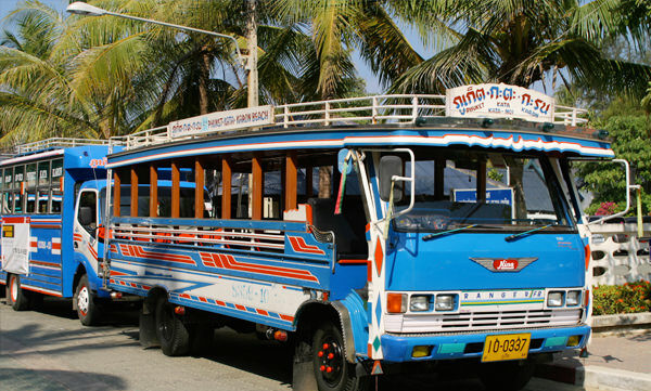 Blue Buses in Phuket