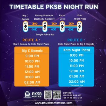 Phuket Smart Bus night route