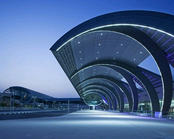 Dubai Airport in UAE