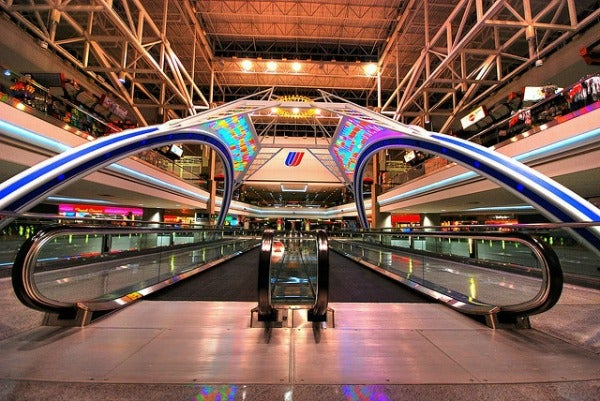 Denver airport in USA