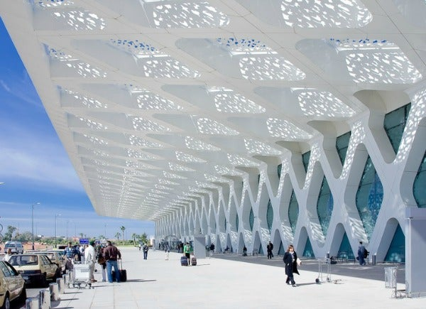 Menara Airport in Morocco